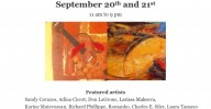 SYMBIOSIS Art Exhibition Sept 20 at Plaza in Old Downtown Carrollton